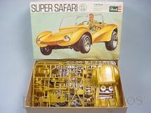 1. Brinquedos antigos - Revell - Kit Super Safari Buggy completo Falta o manual de montagem Década de 1980