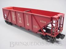 1. Brinquedos antigos - Lionel - Vagão 6536 Minneapolis + St. Louis Hopper Ano 1955 a 1963