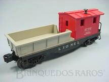 1. Brinquedos antigos - Lionel - Vagão 6119 D.L.+ W. Work Caboose Ano 1955 a 1956