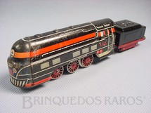 1. Brinquedos antigos - Estrela - Locomotiva a vapor E.F.E Ferrorama Década de 1960