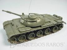 1. Brinquedos antigos - Politoys e Polistil - Tanque de Guerra Russo T62 com 14,00 cm de comprimento Polistil Década de 1970