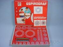 1. Brinquedos antigos - Estrela - Espirograf jogo de engrenagens para desenho Completo com canetas e manual Ano 1978