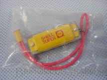 1. Brinquedos antigos - Sem identificação - Gaita com 3,00 cm de comprimento Brinde Shell Super Excede Embalagem lacrada Década de 1960