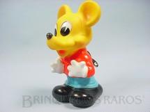 1. Brinquedos antigos - Estrela - Mickey O Bailarino com 13,00 cm de altura Série Disneylândia Walt Disney Ano 1969