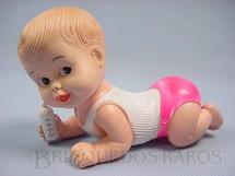1. Brinquedos antigos - Estrela - Boneco Caçula 16,00 cm de comprimento Ano 1968