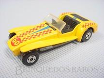 1. Brinquedos antigos - Matchbox - Lotus Super Seven Supefast amarela numero 60