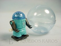1. Brinquedos antigos - Trol - Robot azul com 5,00 cm de altura Década de 1980