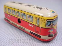 1. Brinquedos antigos - Technofix - Bonde com 7,00 cm de comprimento