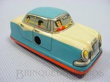 1. Brinquedos antigos - Technofix - Taxi com 7,00 cm de comprimento