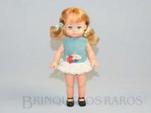 1. Brinquedos antigos - Estrela - Boneca Dancinha com 20,00 cm de altura Ano 1973