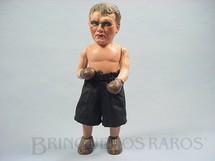 1. Brinquedos antigos - Sem identificação - Pugilista com 26,00 cm de altura Papier Mache década de 1920