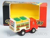 1. Brinquedos antigos - Glasslite - Entrega Rápida Glasslite Pepsi Cola Década de 1980