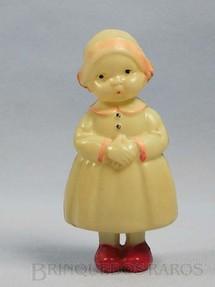 1. Brinquedos antigos - Sem identificação - Boneca com 11,00 cm de altura Década de 1930