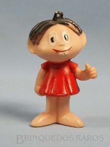 1. Brinquedos antigos - Trol - Mônica com 8,00 cm de altura Maurício de Sousa Década de 1970