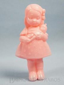 1. Brinquedos antigos - Sem identificação - Boneca com Bebê 14,00 cm de altura Década de 1960