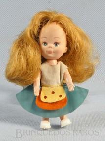 1. Brinquedos antigos - Estrela - Boneca Vivinha com 10,00 cm de altura Ano 1969