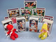 1. Brinquedos antigos - Trol - Coleção Fofolete completa com 12 Bonecas diferentes Década de 1970