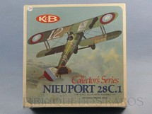 1. Brinquedos antigos - K and B - Avião Nieuport 28C.1 Caixa lacrada Década de 1960