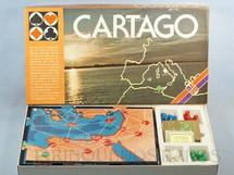 1. Brinquedos antigos - Grow - Jogo Cartago Completo Perfeito estado Década de 1980