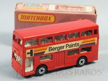 1. Brinquedos antigos - Matchbox - The Londoner Superfast Berger Paints