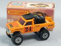1. Brinquedos antigos - Matchbox - Caminhonete Open Back Truck 4X4 Superfast