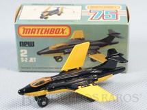 1. Brinquedos antigos - Matchbox - S-2 Jet Superfast preto