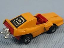 1. Brinquedos antigos - Matchbox - Inbrima - Woosh-N-Push Superfast laranja Brazilian Matchbox Inbrima 1970