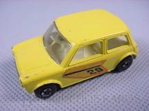 1. Brinquedos antigos - Matchbox - Inbrima - Racing Mini amarelo Brazilian Matchbox Superfast Inbrima 1970