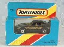 1. Brinquedos antigos - Matchbox - Datsun 280 ZX Superfast Caixa Lacrada