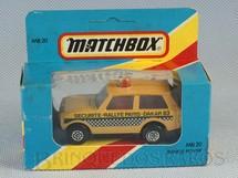 1. Brinquedos antigos - Matchbox - Range Rover Rola-Matics Rally Paris Dakar 83 Version Caixa Lacrada