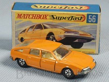 Brinquedos Antigos - Matchbox - BMC 1800 Pininfarina Superfast Transitional Weels peach