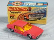 1. Brinquedos antigos - Matchbox - Lamborghini Marzal Superfast Transitional Weels salmão