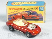 1. Brinquedos antigos - Matchbox - Hot Rod Draguar Superfast
