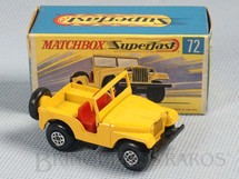 1. Brinquedos antigos - Matchbox - Standard Jeep Superfast