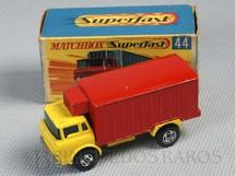 1. Brinquedos antigos - Matchbox - Refrigerator Truck Superfast Transitional Weels