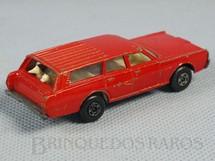 1. Brinquedos antigos - Matchbox - Mercury Commuter Superfast vermelho Falta o adesivo
