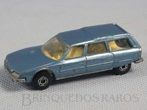 1. Brinquedos antigos - Matchbox - Citroen CX Superfast azul metálico