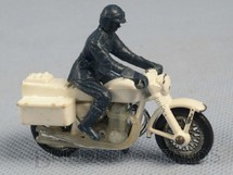 1. Brinquedos antigos - Matchbox - Inbrima - Police Honda 750 Superfast Brazilian Matchbox Inbrima 1970