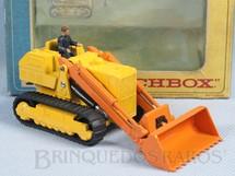 1. Brinquedos antigos - Matchbox - Caterpillar Traxcavator King Size Década de 1960