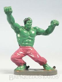 1. Brinquedos antigos - Casablanca e Gulliver - Incrivel Hulk de plástico pintado Década de 1970