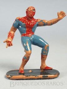 1. Brinquedos antigos - Casablanca e Gulliver - Homem Aranha de plástico pintado Década de 1970
