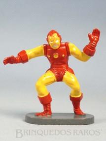 1. Brinquedos antigos - Casablanca e Gulliver - Homem de Ferro de plástico pintado Década de 1970