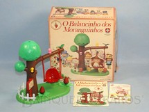 1. Brinquedos antigos - Estrela - Balancinho da Moranguinho completo Ano 1986