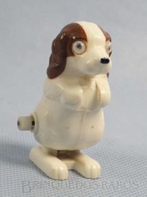 1. Brinquedos antigos - Estrela - Cachorro com 5,00 cm de altura Coleção Patotinha  Ano 1982