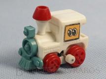 1. Brinquedos antigos - Estrela - Locomotiva com 4,00 cm de comprimento Coleção Patotinha  Ano 1982