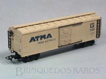 1. Brinquedos antigos - Atma - Vagão Furgão Atma Trens Elétricos Década de 1960