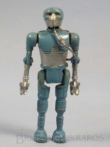 1. Brinquedos antigos - Model Trem - Robot 2-1B1 com 10,00 cm de altura Série Novas Aventuras nas Galáxias Guerra nas Estrelas Star Wars Ano 1983