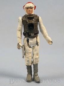 1. Brinquedos antigos - Model Trem - Luke Skywalker em traje Hoth com 10,00 cm de altura Série Novas Aventuras nas Galáxias Guerra nas Estrelas Star Wars Ano 1983