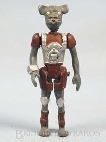 1. Brinquedos antigos - Model Trem - Animalóide Kornis com 10,00 cm de altura Série Novas Aventuras nas Galáxias Guerra nas Estrelas Star Wars Ano 1983
