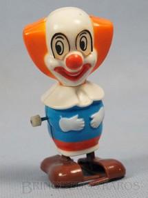1. Brinquedos antigos - Estrela - Palhaço Bozo com 8,00 cm de altura Coleção Patotinha  Ano 1982